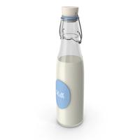 Milk Bottle Label PNG & PSD Images