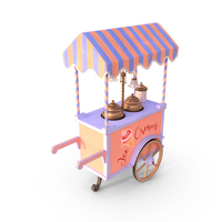 Ice Cream Cart PNG & PSD Images