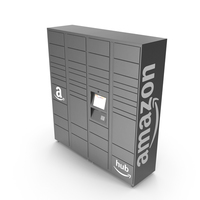 Amazon Delivery Lockers PNG & PSD Images