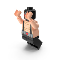 Lego Bane Jumping PNG & PSD Images