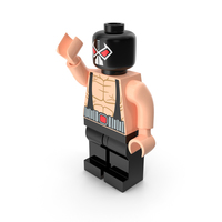 Lego Bane Pose 1 PNG & PSD Images