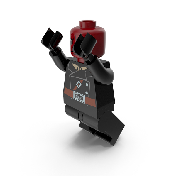 Lego Red Skull Jumping PNG & PSD Images