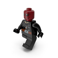 Lego Red Skull Walk PNG & PSD Images