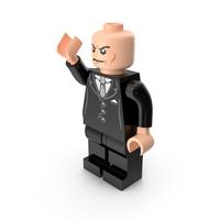 Lego Lex Luthor Pose PNG & PSD Images