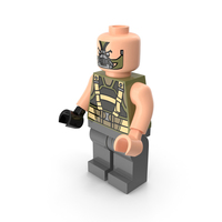 Lego Bane Dark Knight PNG & PSD Images