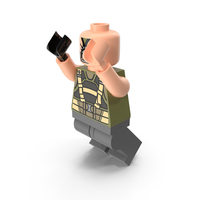 Lego Bane Dark Knight Jumping PNG & PSD Images