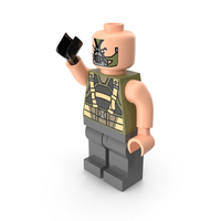 Lego Bane Dark Knight Pose PNG & PSD Images
