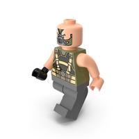 Lego Bane Dark Knight Walk PNG & PSD Images
