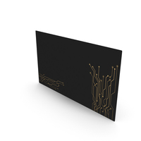 Fancy Business Card Mockup Tech PNG & PSD Images