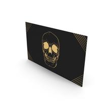Fancy Business Card Mockup Killer Assassin PNG & PSD Images