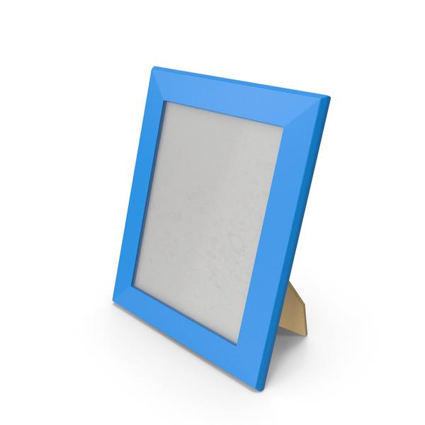 Photo Frame Blue PNG & PSD Images