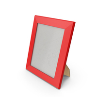 Photo Frame Red PNG & PSD Images