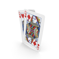 Playing Cards Pairs Queens PNG & PSD Images