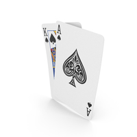 Playing Cards Texas Holdem Hand King Ace PNG & PSD Images