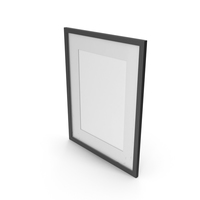 Wall Picture Frame Black PNG & PSD Images