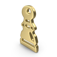 Pawn Logo Gold PNG & PSD Images