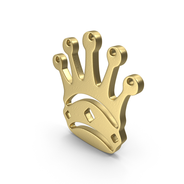 Queen Logo Gold PNG & PSD Images
