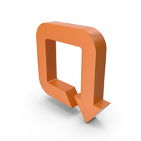 Arrow Orange PNG & PSD Images