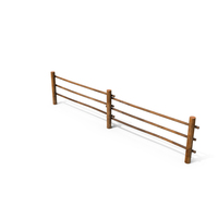 Old Wooden Farm Fence PNG & PSD Images