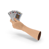 Hand Holding a Full House PNG & PSD Images