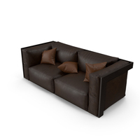 Brown Sofa PNG & PSD Images