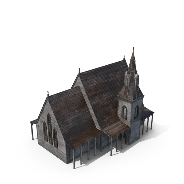 Wooden Church PNG & PSD Images