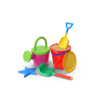 Sand Toys PNG & PSD Images
