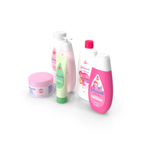 Baby Care Set PNG & PSD Images
