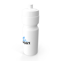 Sports Bottle White PNG & PSD Images
