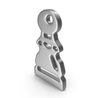 Pawn Logo Silver PNG & PSD Images