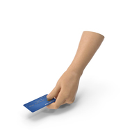 Hand Holding a Credit Card PNG & PSD Images