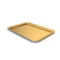 Gold Tray PNG & PSD Images