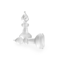 Chess Bishop Matte Glass PNG & PSD Images