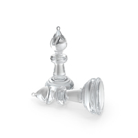 Chess Bishop Glass PNG & PSD Images