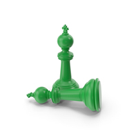 Chess King Green PNG & PSD Images