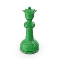Chess Queen Green PNG & PSD Images