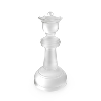 Chess Queen Matte Glass PNG & PSD Images