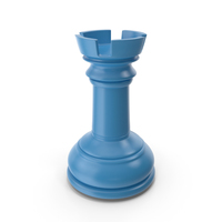 Chess Rook Blue PNG & PSD Images