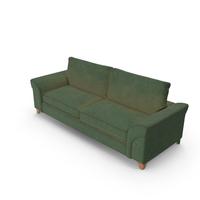 Sofa Worn Green PNG & PSD Images