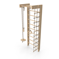 Swedish Ladder Wall Set PNG & PSD Images