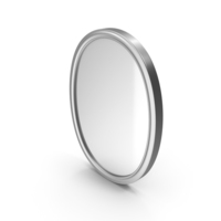 Wall Mirror Silver PNG & PSD Images