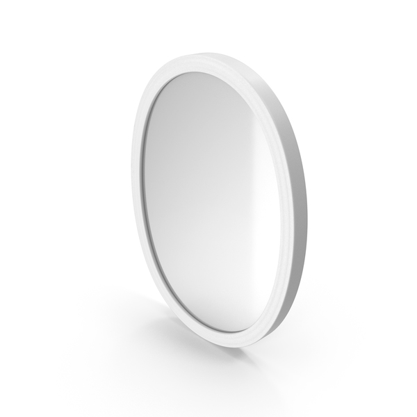 Wall Mirror White PNG & PSD Images