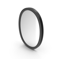 Wall Mirror Black PNG & PSD Images