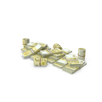 Pile of Singapore Dollar Stacks PNG & PSD Images
