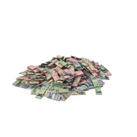 Large Pile of Canadian Dollar Stack PNG & PSD Images