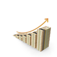 Canadian Dollar Income Graph PNG & PSD Images