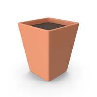 Clay Pot With Soil PNG & PSD Images