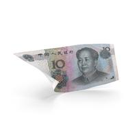 10 Chinese Yuan Banknote Bill PNG & PSD Images