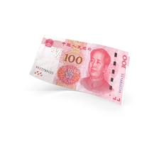 100 Chinese Yuan Banknote Bill PNG & PSD Images