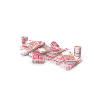 Pile of Chinese Yuan Stacks PNG & PSD Images